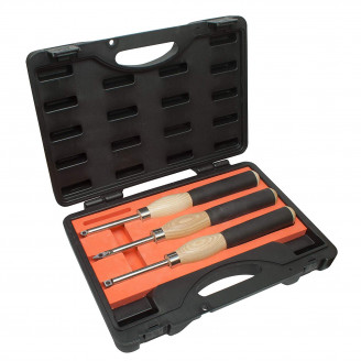 3 piece Carbide Mini Turning Tool Set