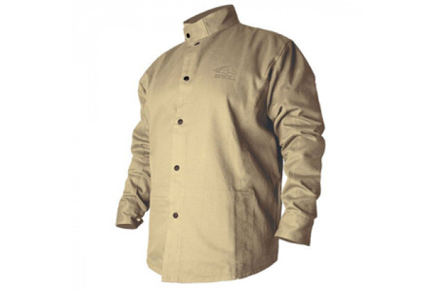 BSX Tan Cotton Jacket Large (4376)