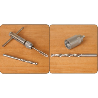 Bottle Stopper Tap & Drill Bit With Chuck 7229 7228