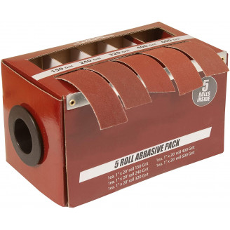 Boxed Multi-Roll Assorted Abrasive Rolls