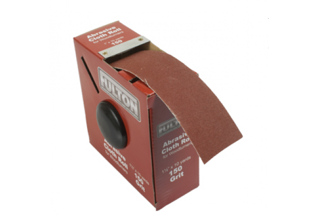 1-1/2 inch x 10 Yard Abrasive Cloth Rolls