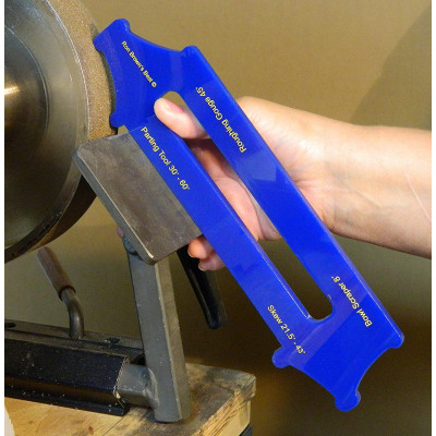 Ron Brown's Best Quad-Setting-Jig For Wood Lathe Tools