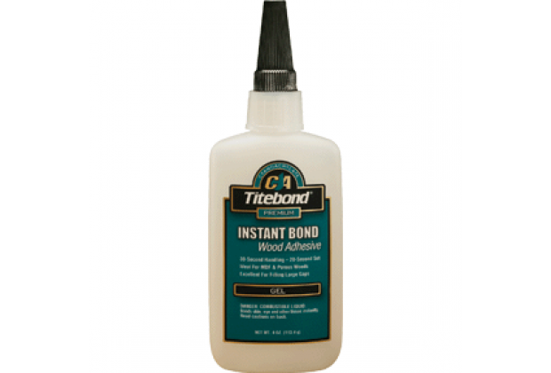2oz Gel Titebond Instant Glue 3502
