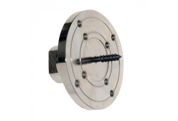 7523 4inch Faceplate with Screw Chuck
